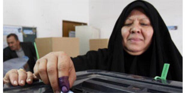 Fahrverbot bei Provinz-Wahlen im Irak