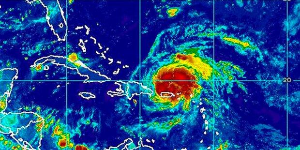 Hurrikan Irene nimmt Kurs auf die Bahamas