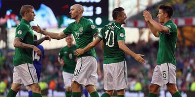 Irland und Portugal im WM-Rennen
