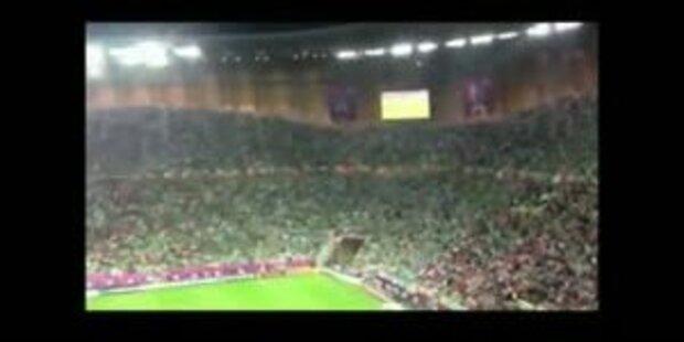 Die Iren haben die besten Fans der Welt
