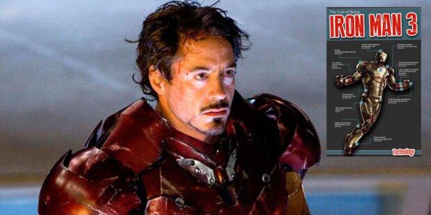 So teuer wäre der Iron Man 3-Anzug