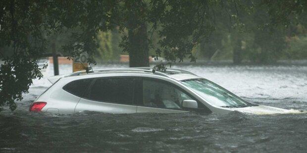 Isaac setzt US-Süden unter Wasser