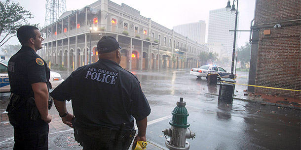 Isaac in New Orleans