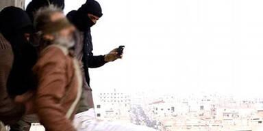 ISIS stürzt Homo- Sexuellen vom Dach