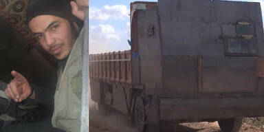 ISIS-Kämpfer lenkt Bomben-Truck in den Tod