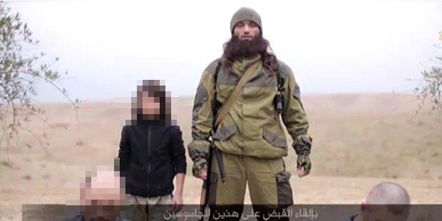 IS lässt kleinen Buben Spione erschießen