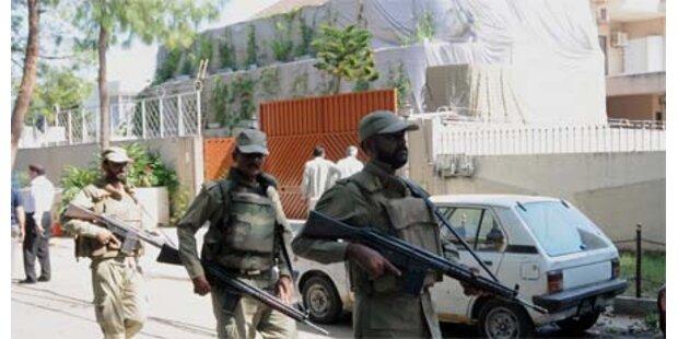 Explosion vor UNO-Büro in Islamabad