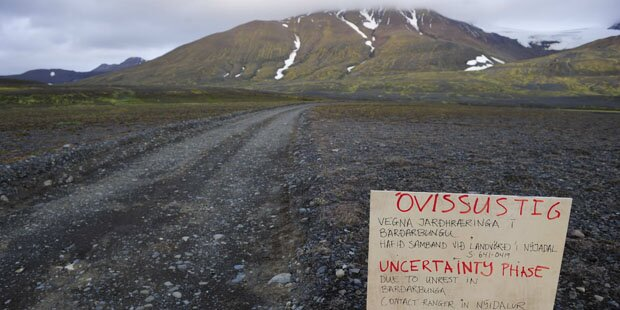 Vulkanausbruch: Luftraum gesperrt