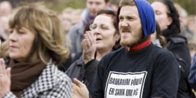 Demonstranten wollen Rücktritt des Premiers