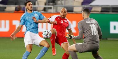 Israel verpatzt Auftakt mit 0:2 gegen Dänemark