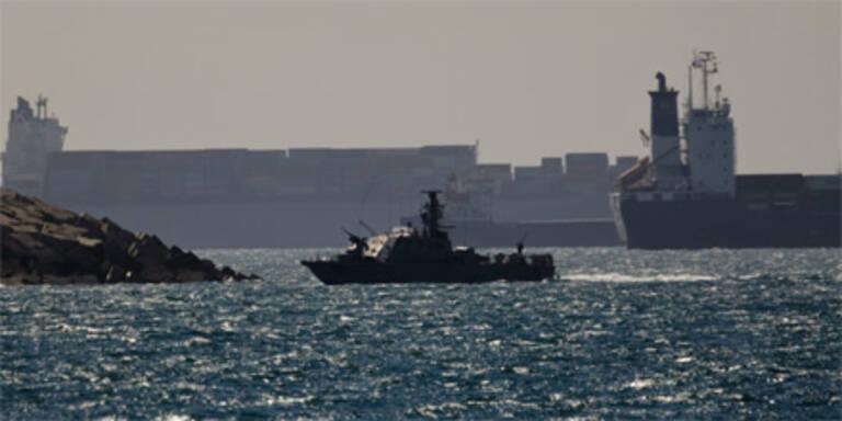 Israel fängt Schiff im Mittelmeer ab