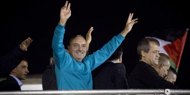 Israel ließ 26 Palästinenser frei