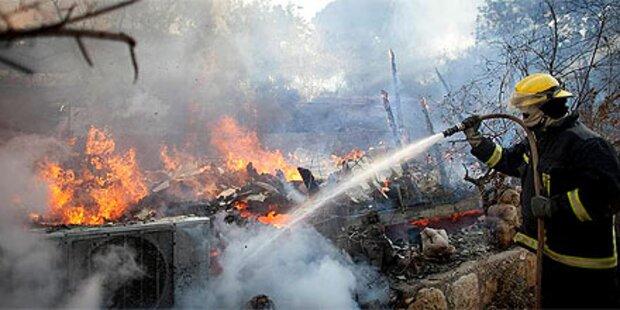 Wasserpfeifen-Raucher löste Waldbrand aus