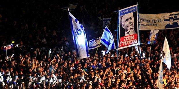 Israel: Hunderttausende bei Sozialprotesten