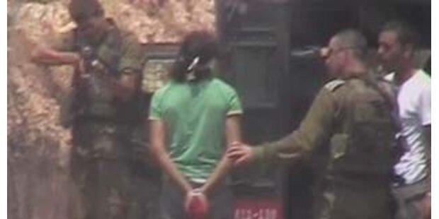 Soldat nach Schuss auf Palästinenser wieder enthaftet
