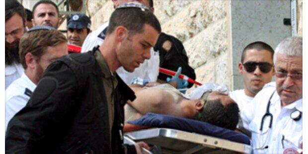 Palästinenser ersticht Israeli in Jerusalem