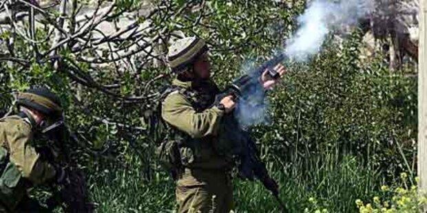 Ausschreitungen im Westjordanland