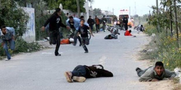 Israelis und Hamas kämpfen erbittert
