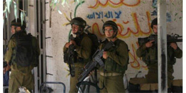 Israelisches Militär tötet drei Palästinenser