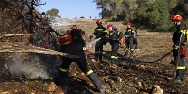 Großbrand in Israel endlich gelöscht