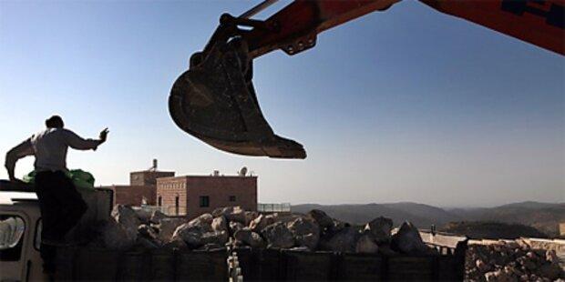 Israel stoppt Bau von 20.000 Siedlungen