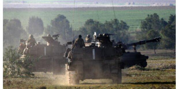 Israelische Panzer rücken in Hamas-Hochburg ein