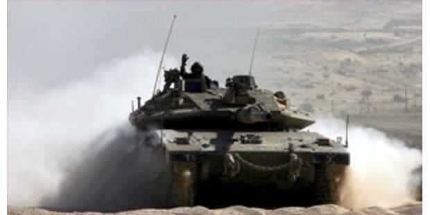 Israelischer Panzervorstoß im Gaza-Streifen