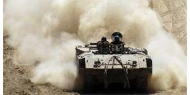Vier Kinder bei israelischem Panzerangriff getötet