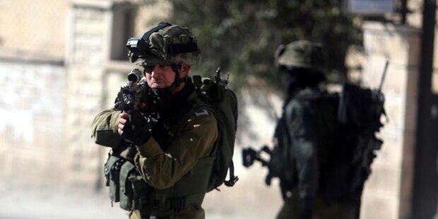 Angriff auf Soldatin: 2 Palästinenser tot