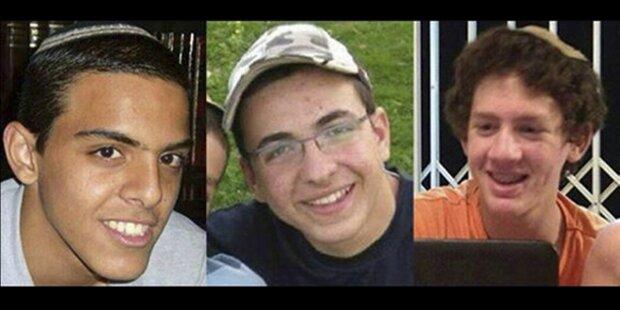 Vermisste israelische Schüler tot