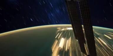 Zeitraffer Aufnahmen von der ISS