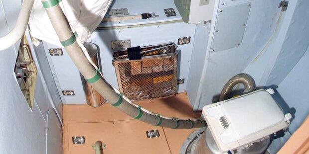 Filmreife Klo-Panne auf der ISS