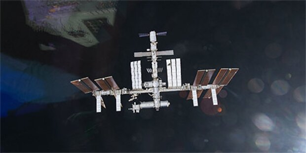 Internationale Raumstation ist fertig