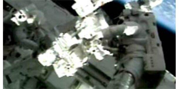 Außeneinsatz der Endeavour-Crew beendet