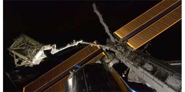 ISS-Sonnensegel erfolgreich entfaltet