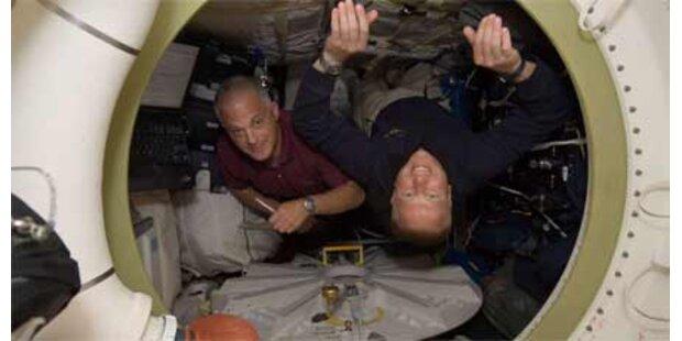 Klo auf der ISS ist kaputt