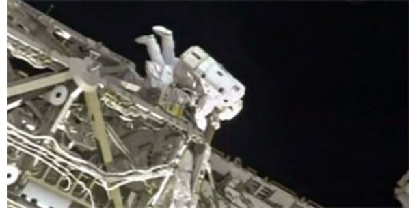 Reparatur der ISS-Sonnensegel beendet