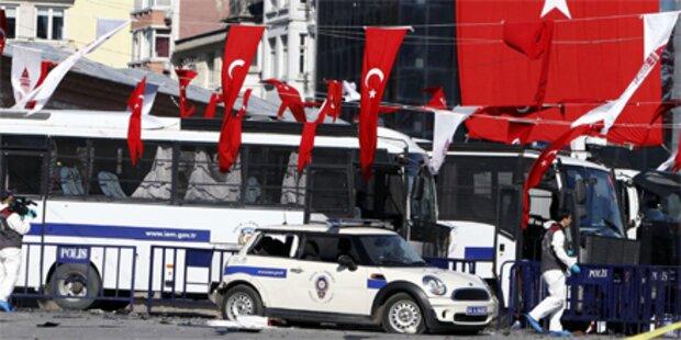 Bombenanschlag im Istanbuler Zentrum