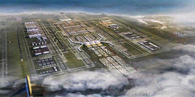 Istanbul baut größten Flughafen der Welt