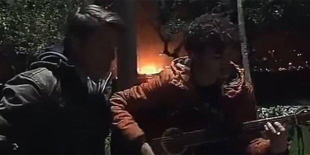 Video zeigt gewaltige Explosion in Istanbul
