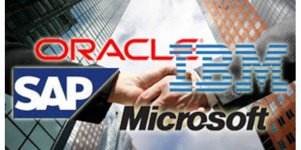 IT-Konzerne sind 2008 wieder auf Einkaufstour