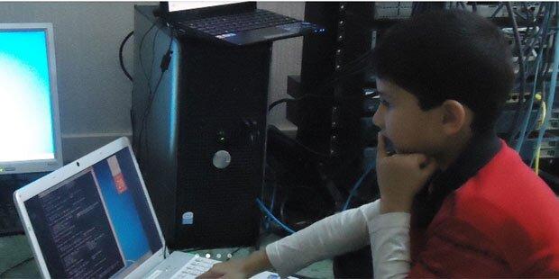 5-jähriger schafft Microsoft-Techniker-Test