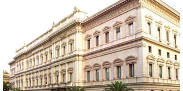 Italienische Notenbank ermittelt gegen vier Großbanken