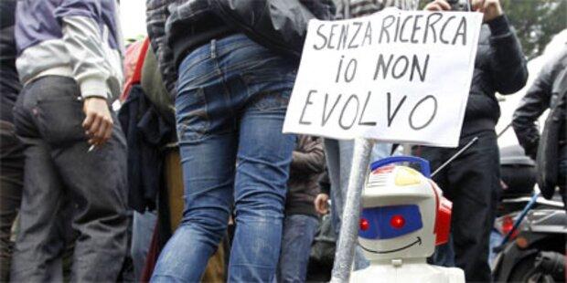 Erneut Studentendemos in ganz Italien