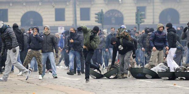 Zweiter Streik-Tag italienischer Fernfahrer