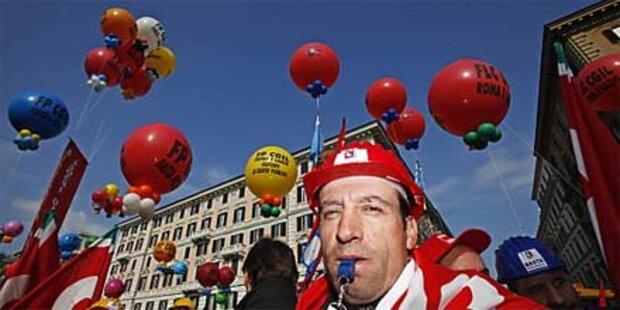 Protest: Bahn- und Flugstreik in Italien