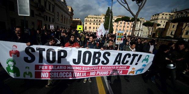 Generalstreik in Italien: Chaos droht