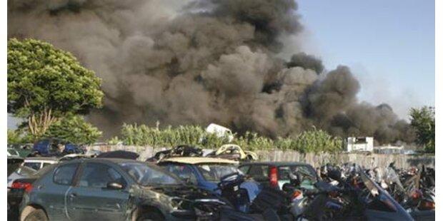 Großbrand hält Rom in Atem