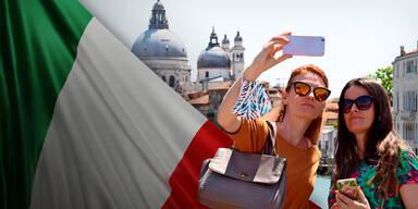 """Italien ist jetzt ganz """"weiß"""""""