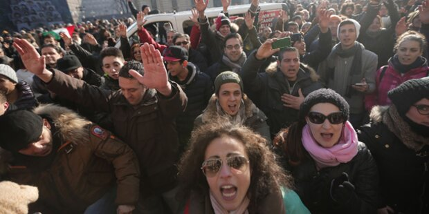 Proteste gegen Italiens Regierung eskalieren